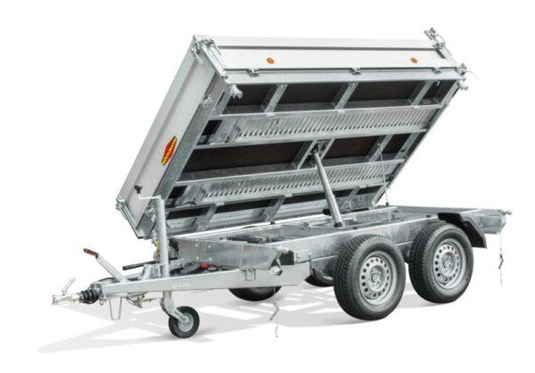 Boeckmann - Carrello Ribaltabile su 3 Lati in Alluminio