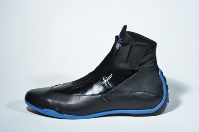 stivaletti liberty evo blu, boots blue, freejump