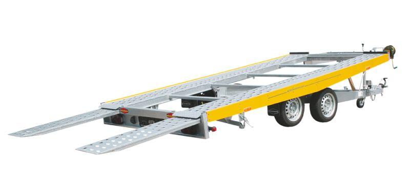 Boeckmann - Carrello per Trasporto Auto Rialzato