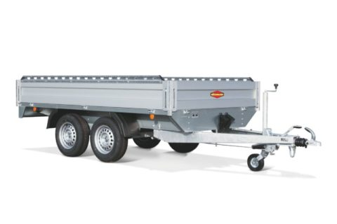 carrello CH rialzato tandem high trailer boeckmann