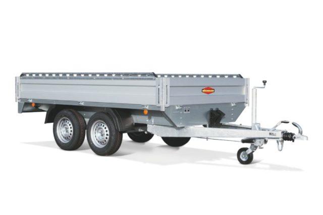 carrello CH rialzato tandem high trailer boeckmann