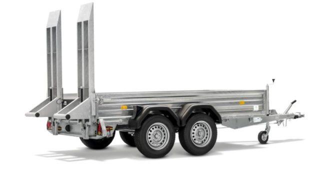 Boeckmann - Carrello per Trasporto Macchine Edili Piano
