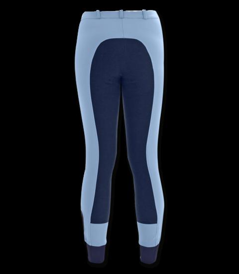 pantaloni in microfibra con inserto elastico, waldhausen, abbigliamento accessori cavaliere