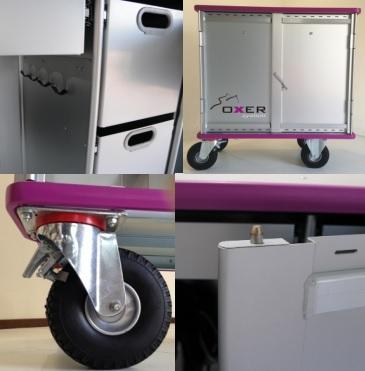 cassone da concorso carrello Professional - oxer system