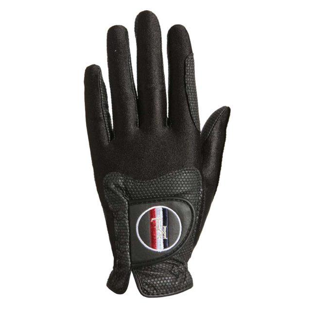 guanti da competizione tecnici, antiscivolo ed elastici, riding gloves, kingsland, abbigliamento cavaliere