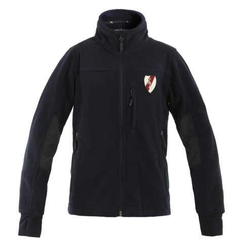 giacca pile unisex, kingsland, abbigliamento cavaliere