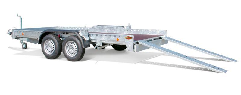 Boeckmann - Carrello per Trasporto Auto Universale Tandem Ribassato