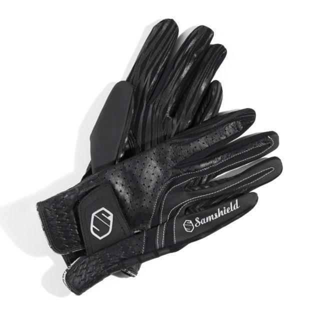 v-skin, guanti 4 diversi materiali, samshield, abbigliamento accessori cavaliere