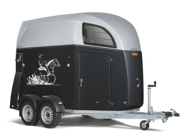 Boeckmann - Rimorchio per Cavalli Comfort Con Selle Western