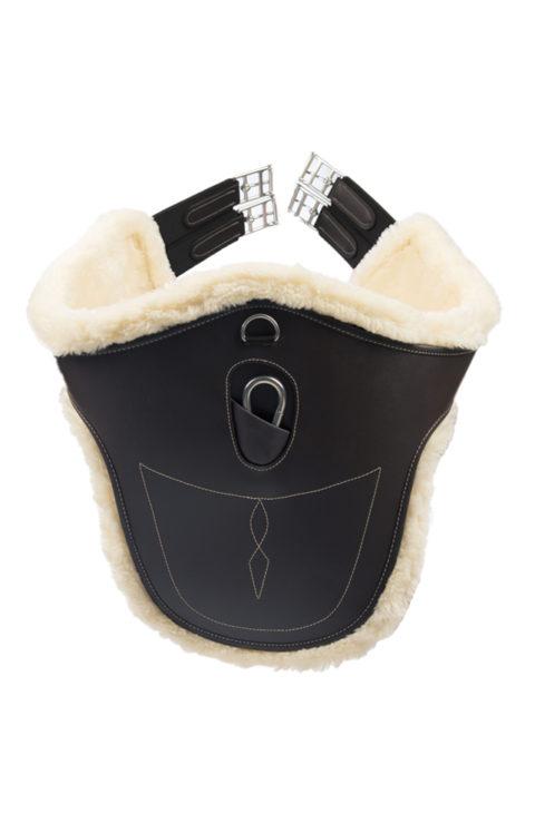 sottopancia pararamponi con agnellino girth, kentucky horsewear
