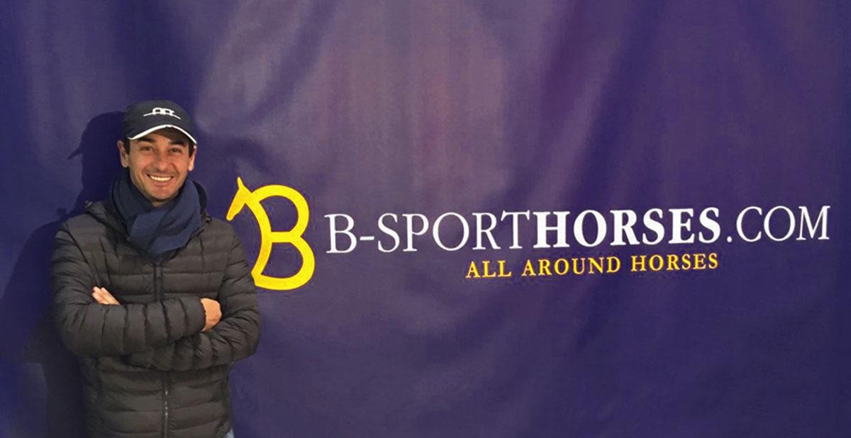 Luca-Inselvini per B-Sporthorses: vendita attrezzature e accessori per il cavallo e il cavaliere