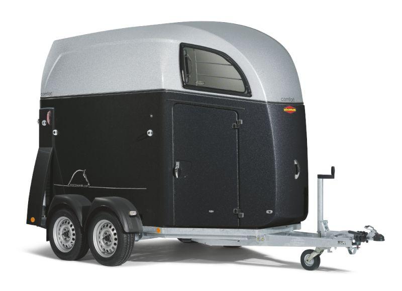 Boeckmann - Rimorchio per Cavalli Comfort Con Sospensioni CFFplus
