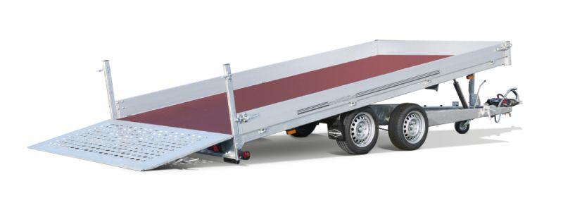 Boeckmann - Carrello per Trasporto Macchine Edili Rialzato