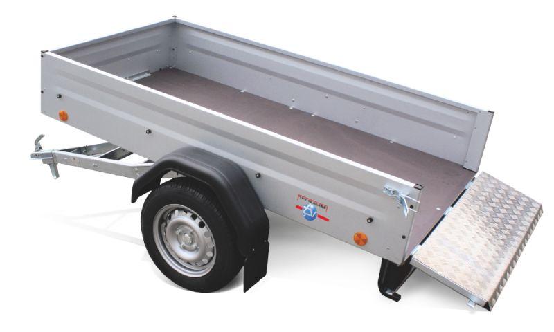 Boeckmann - Carrello per Trasporto Macchine Edili Ribaltabile Ribassato Tpv