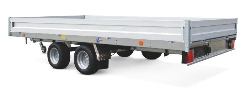 Boeckmann - Carrello per Trasporto Auto Tpv Tandem