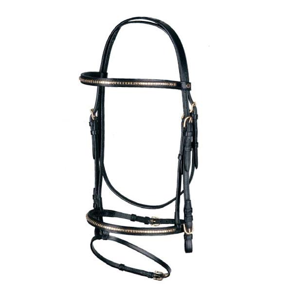 clincher-brass-bridle